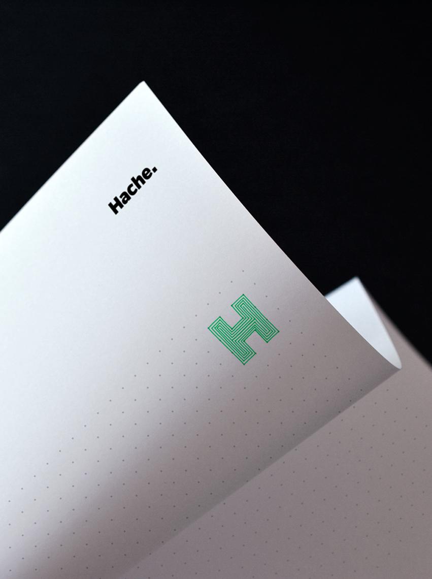Rebranding Hache hoja