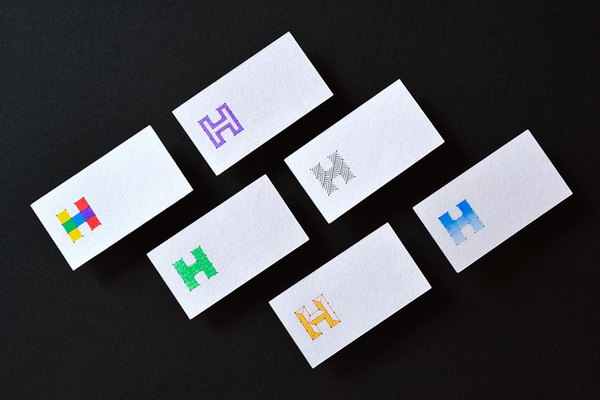 Rebranding Hache tarjetas